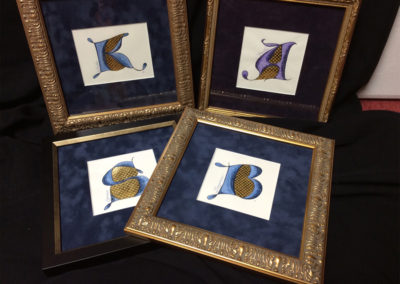 Award for Calligraphy Students