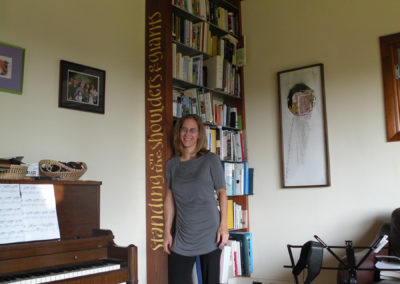 Carved and Gilded Bookcase
